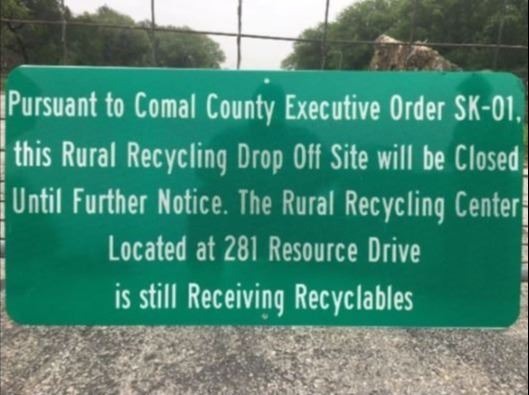Comal County Recycling